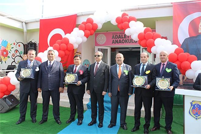 Tarsus Cezaevi Kampüsü İçindeki 'Adalet Anaokulu' Törenle Açıldı
