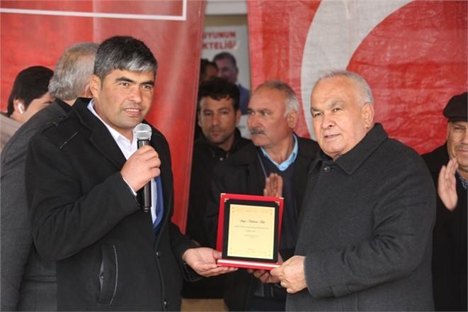 """Erdemli Belediye Başkanı Tollu """"Ayinesi İştir Kişinin, Lafa Bakılmaz"""""""