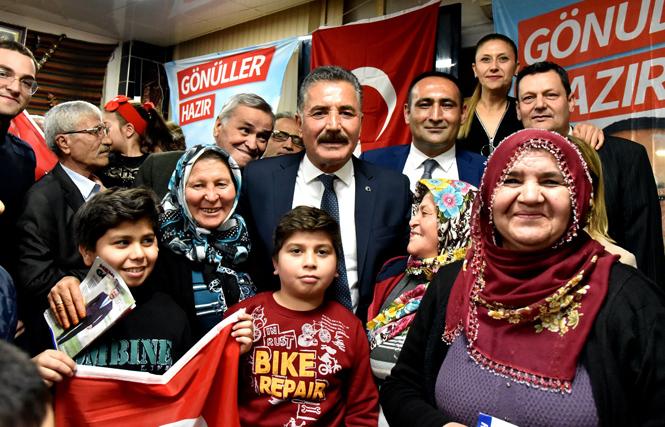 "Başkan Hamit Tuna; ""Mersin'i Hizmete Boğacağız"""