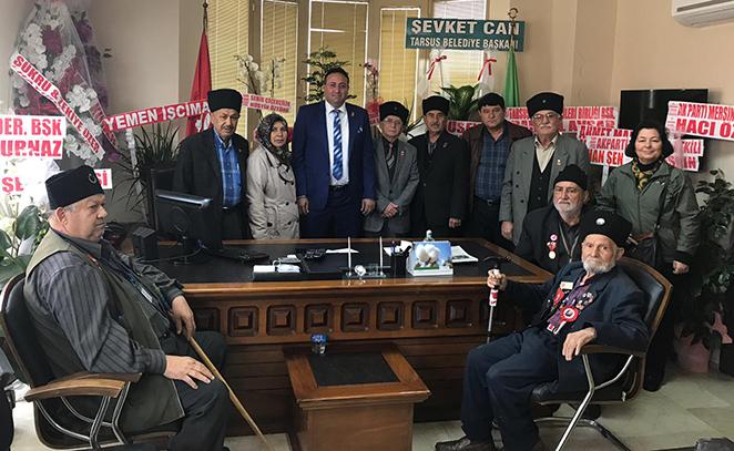 Ziraat Odası Başkanı Veyis Avcı'ya, Hayırlı Olsun Ziyareti