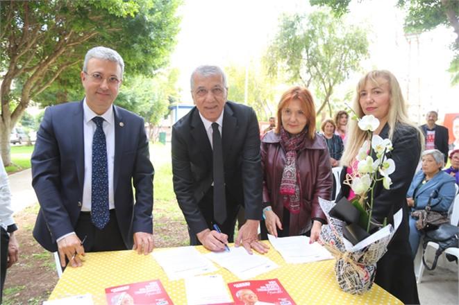 Başkan Tarhan, 'Doğa Dostu Belediye Başkanı Taahhütnamesi'ni İmzaladı