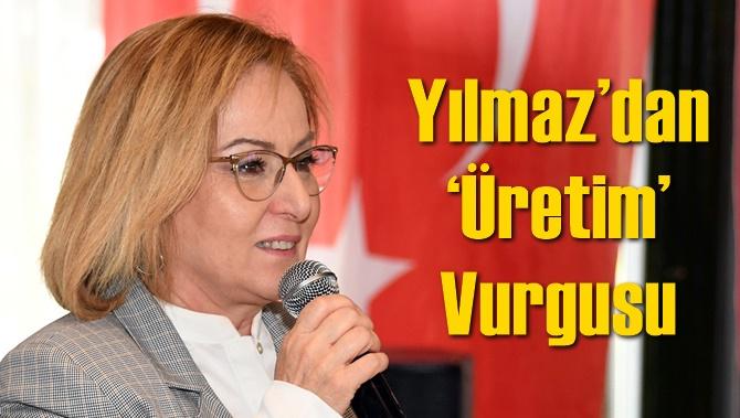 DP Mersin Büyükşehir Adayı Ayfer Yılmaz'dan 'Üretim' Vurgusu