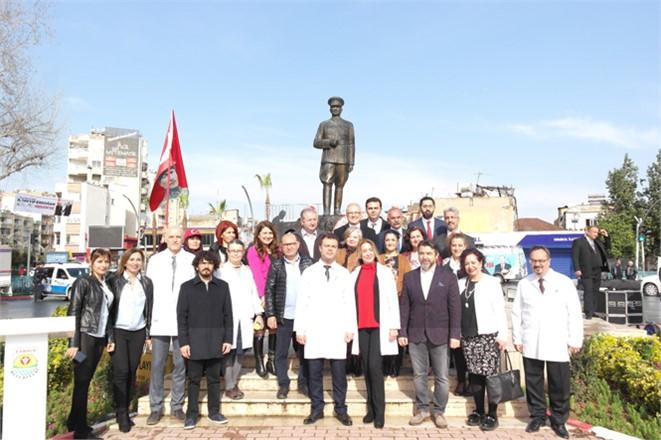 Mersin Tarsus'ta 14 Mart Tıp Bayramı Münasebetiyle Bir Tören Düzenlendi