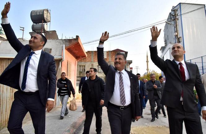 """Başkan Tuna; """"Mersin, 24 Saat Yaşayan Şehir Olacak"""""""