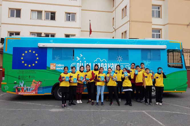 Avrupa Birliği ve Alman Büyükelçileri Tarsus'lu Öğrencilerle Bilim Karavanında Robotik Kodlama Yapacak