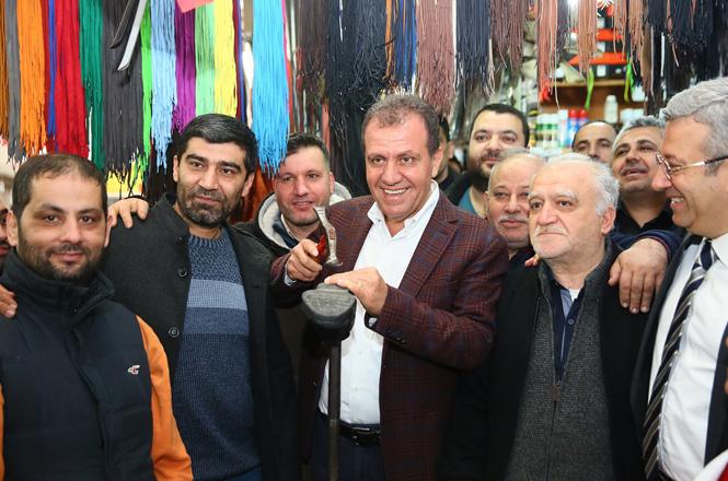 CHP'li Vahap Seçer'den, Esnafa Başkan Sözü