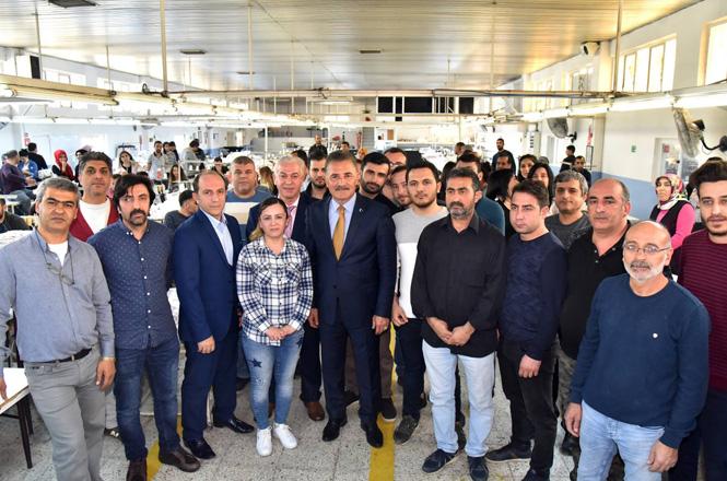 """Cumhur İttifakı Mersin Büyükşehir Adayı Başkan Hamit Tuna; """"Ulaşılabilen Belediye Başkanıyım"""""""