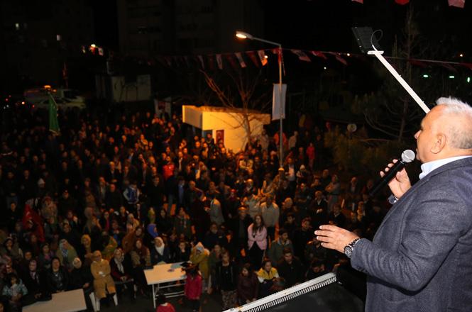 Erdemli Belediye Başkanı Tollu, Erdemli 'de Tarih Yazacağız
