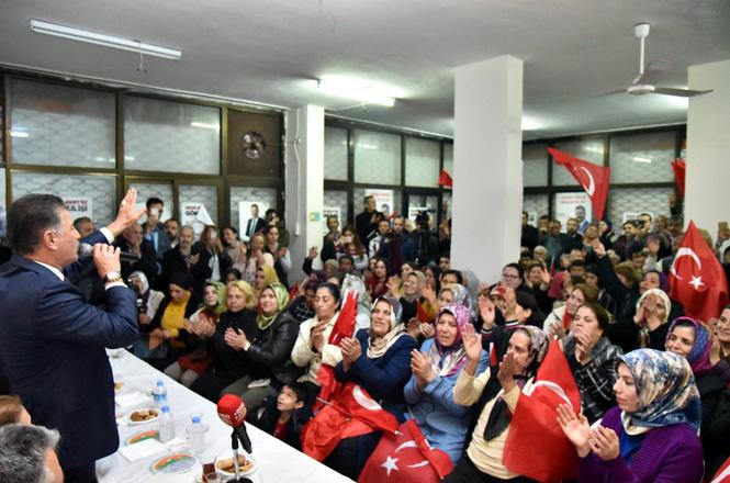 Başkan Hamit Tuna, Turgut Türkalp, Tozkoparan, Osmaniye, Çukurova, Güneykent ve Halkkent Mahaleleri'nin Sakinleriyle De Buluştu