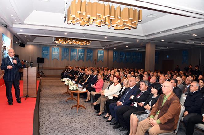 Büyükşehir Belediye Başkanı Burhanettin Kocamaz, Proje Bilgilendirme Toplantısı'nda Mersinli İş İnsanları İle Bir Araya Geldi