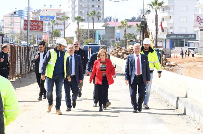 Mersin'de Yapımı Devam Eden Kuvayi Milliye Katlı Kavşağı'nın %70'i Tamamlandı