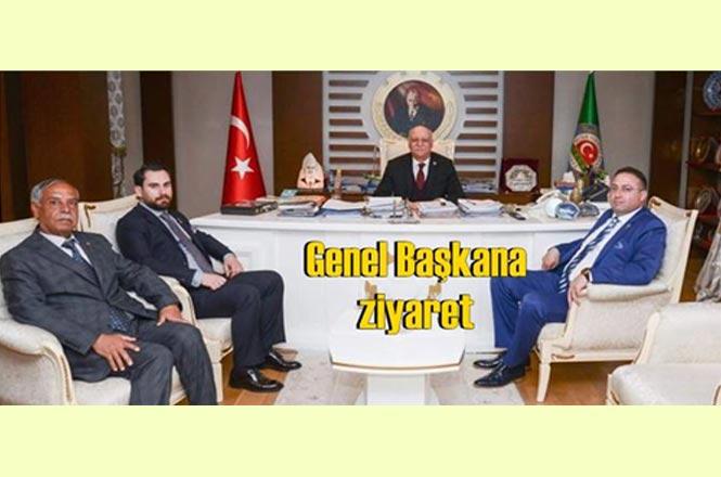 Tarsus Ziraat Odası Başkanı Veyis Avcı, Genel Başkanı Ziyaret Etti