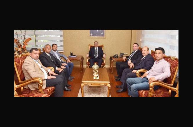 Tarsus Ziraat Odası'ndan Vali Ali İhsan Su'ya ziyaret