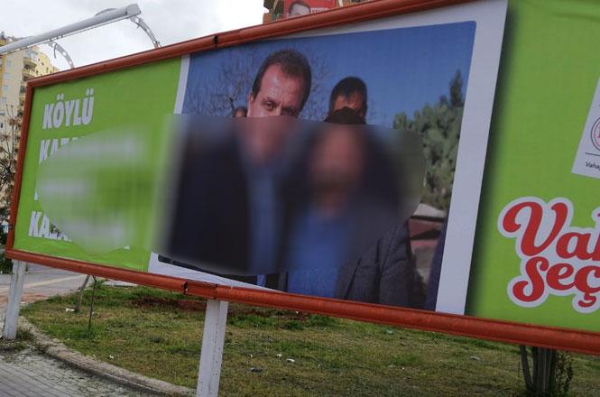 CHP Mersin Büyükşehir Adayının Afişleri Yırtıldı, Mersin'de Çirkin Provokasyon