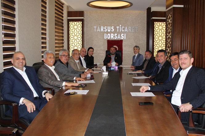 Tarsus Ticaret Borsası Mart Ayı Olağan Meclis Toplantısı Gerçekleşti