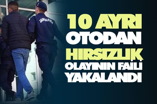 10 Ayrı Hırsızlığa Karışan Şahıs Mersin Tarsus'ta Yakalandı