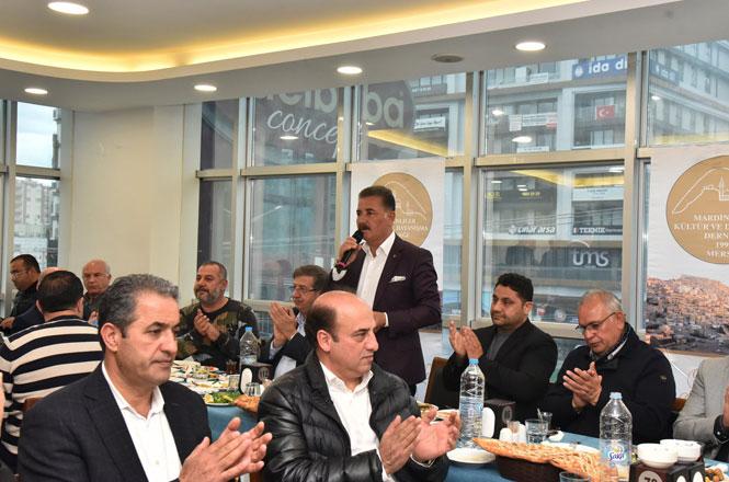"Cumhur İttifakı Büyükşehir Adayı Başkan Tuna; ""Mersin'i Dünya Kenti Yapacağız"""