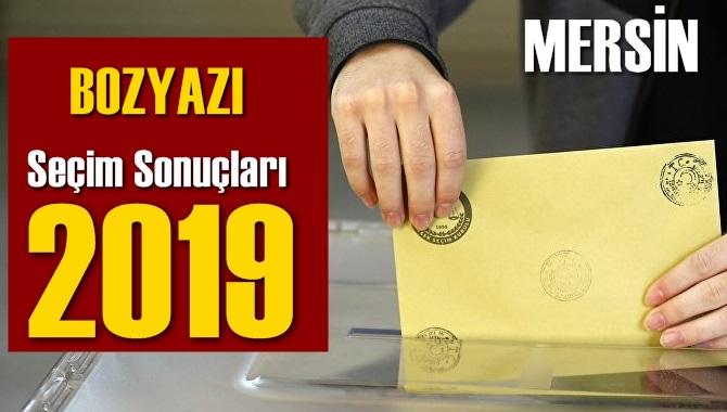 Mersin Bozyazı Seçim Sonuçları 2019, Bozyazı hangi parti kazandı? Sandık sonuçları? Oy Oranları?
