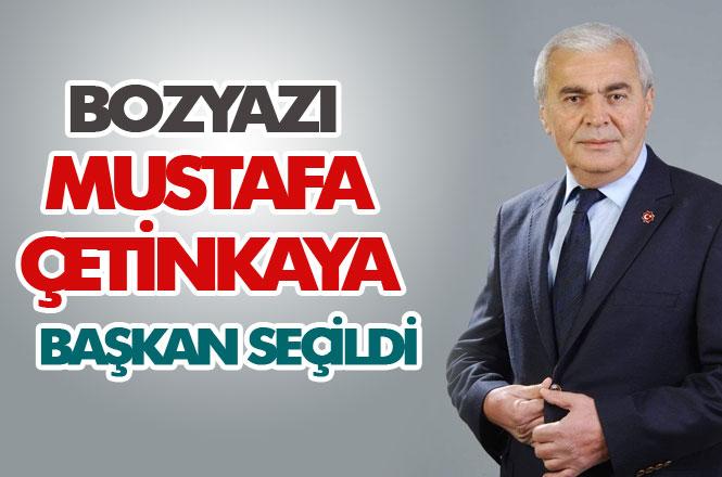 Bozyazı'da Kazanan Belli Oldu! MHP Bozyazı Belediye Başkan Adayı Mustafa Çetinkaya Başkan Seçildi