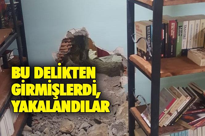 Mersin Tarsus'ta Duvarı Delinerek Soyulan İş Yerinden Çalınan Telefonlar Bulundu