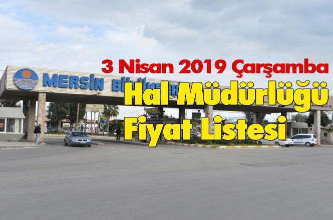 Mersin'deki Hallerde Ürün Fiyatları, Erdemli, Aydıncık, Bozyazı, Atayurt ve Anamur Halleri