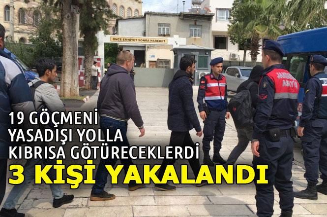 Suriyeli Göçmenleri Kıbrıs Rum Kesimine Geçirmek İçin Aracılık Yapanlar Yakalandı