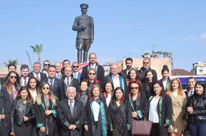 Tarsus'ta 5 Nisan AvukatlarGünü Kutlaması