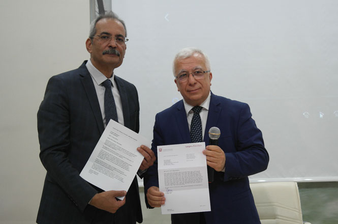 Başkan Bozdoğan'a Langen Belediye Başkanından Kutlama ve Davet Geldi