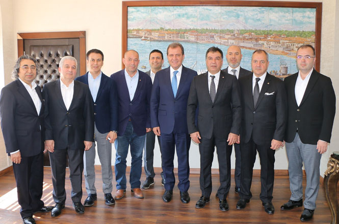 Tarsus TSO Heyetinden, Büyükşehir Başkanı Seçer'e Hayırlı Olsun Ziyareti