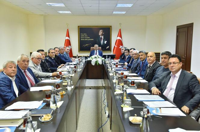 Balıkçılık ve Su Ürünleri Koordinasyon Kurulu Toplantısı Vali Su Başkanlığında Gerçekleştirildi
