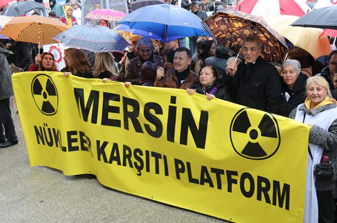 Mezitli Belediye Başkanı Neşet Tarhan, Nükleeri de Lisesini De Mersin'de İstemiyoruz