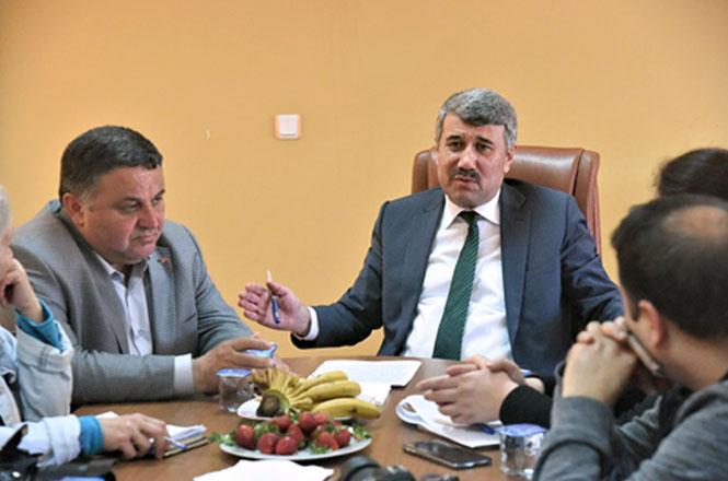 Anamur Belediye Başkanı Hidayet Kılınç Basın Açıklaması Yaptı