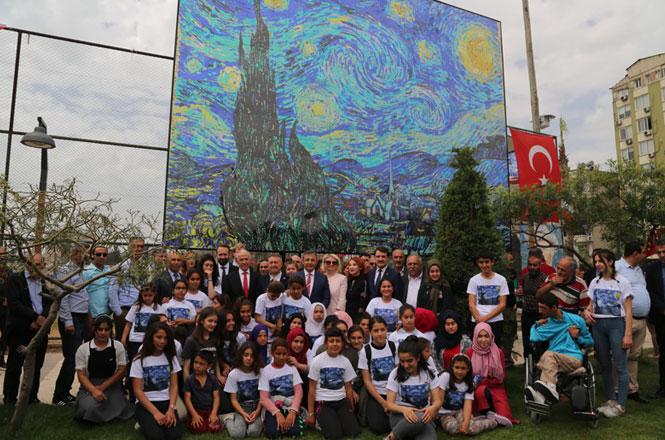 Van Gogh Mersin'de, Rekor Yolda Mersinli Öğrencilerin Sanat Çalışması Guinnes'e Aday