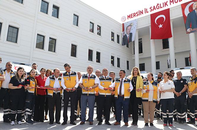 Tarsus'a 2 Adet Yeni Ambulans Geldi