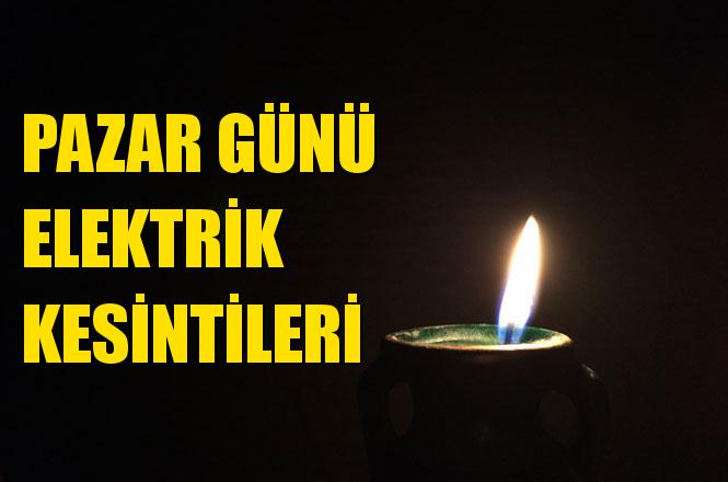 Mersin Elektrik Kesintisi 5 Mayıs Pazar
