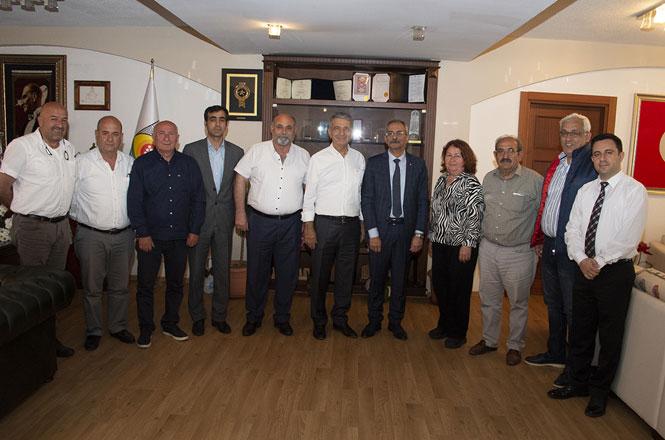 Eski Milletvekili Kuyucuoğlu'dan Başkan Bozdoğan'a Ziyaret