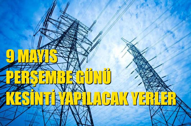 Mersin Elektrik Kesintisi 9 Mayıs Perşembe