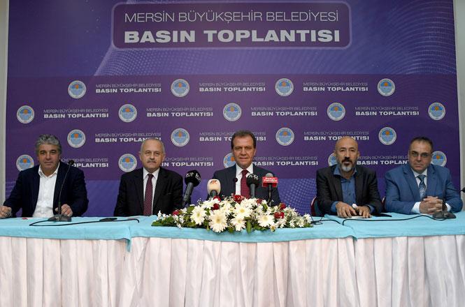 Mersin Basını İle Bir Araya Gelen Mersin Büyükşehir Belediye Başkanı Vahap Seçer Bir Aylık Süreci Değerlendirdi