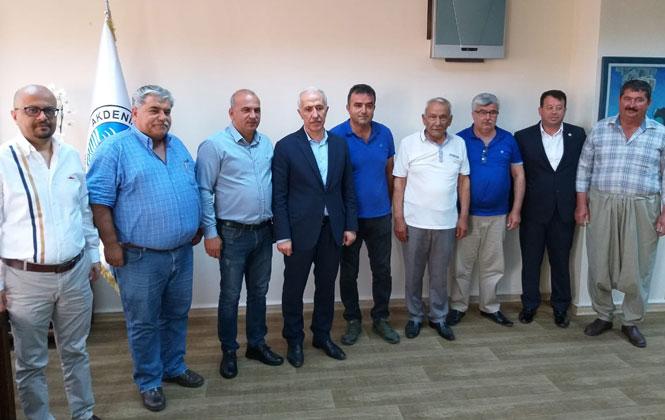 Mersin Akdeniz Ziraat Odası'ndan Başkan Gültak'a Hayırlı Olsun Ziyareti