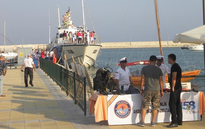 Sahil Güvenlik Botunun Halkın Ziyaretine Açılıyor