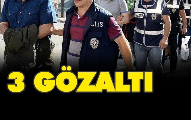 Mersin Tarsus'ta Sosyal Medya Üzerinden Terör Propagandası Yaptığı Öne Sürülen 3 Kişi Gözaltına Alındı