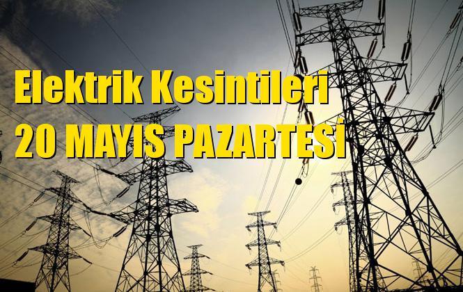 Mersin Elektrik Kesintisi 20 Mayıs Pazartesi