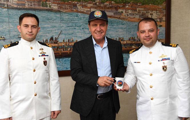 Komutanlardan Başkan Seçer'e Ziyaret