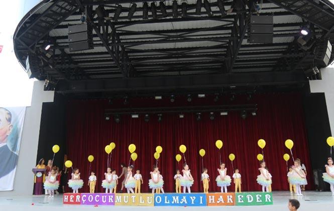 Mezitli'nin Minikleri, Türkiye'nin Renklerini Sergiledi