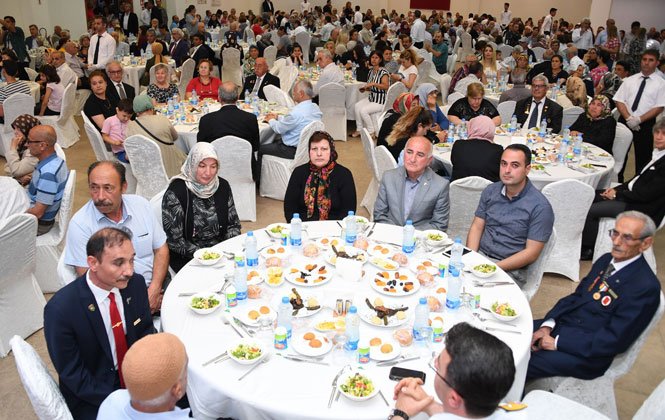 Başkan Seçer Şehit ve Gazi Aileleri İle İftarda Buluştu