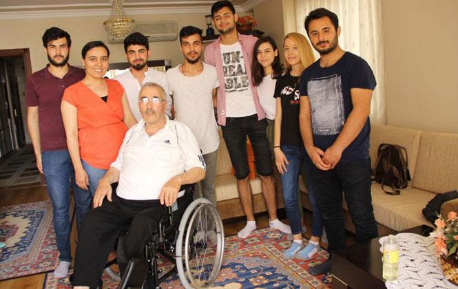 Mersin Silifke'de Öğrencilerden Tekerlekli Sandalye Yardımı