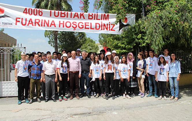 Tarsus'ta 4 Lise Bilim Şenliğinde Buluştu