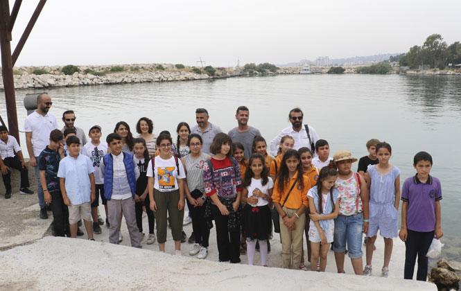 Çocuklar Denizler Hakkında Bilgi Aldı