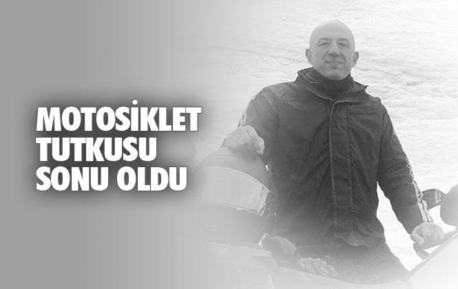 Motosiklet Tutkunu Yener Bulutbeyaz, Mersin Anamur Suolmaz'da Geçirdiği Kazada Hayatını Kaybetti