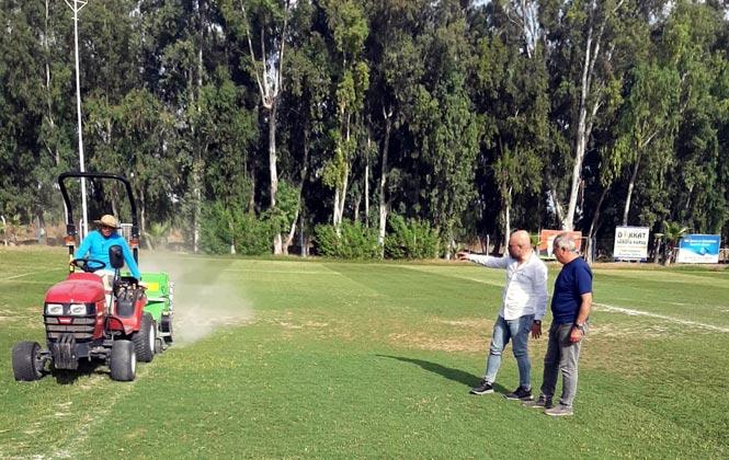 Karacailyas Futbol Sahası, Uzman Ekip Eliyle Yenilendi